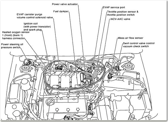 300zx Engine Coil Diagram Electrical Circuit Electrical Wiring Diagram
