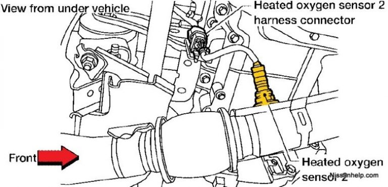 2004-2006 Nissan Altima With 2.5 Engine Air/fuel Ratio And