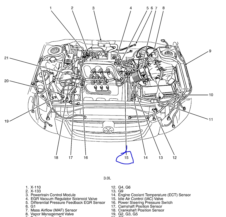 mazda wiring diagram for tribute 2004