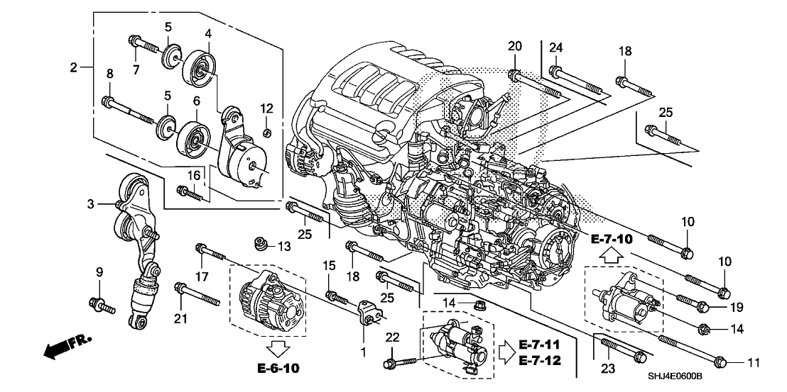 2006 Honda Odyssey Engine Diagram. Honda. Auto Parts