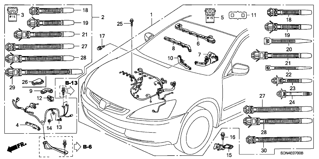 [DIAGRAM] Honda Accord Wiring Diagram 2003 FULL Version HD