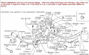 1995 Nissan Maxima Engine Diagram | Automotive Parts