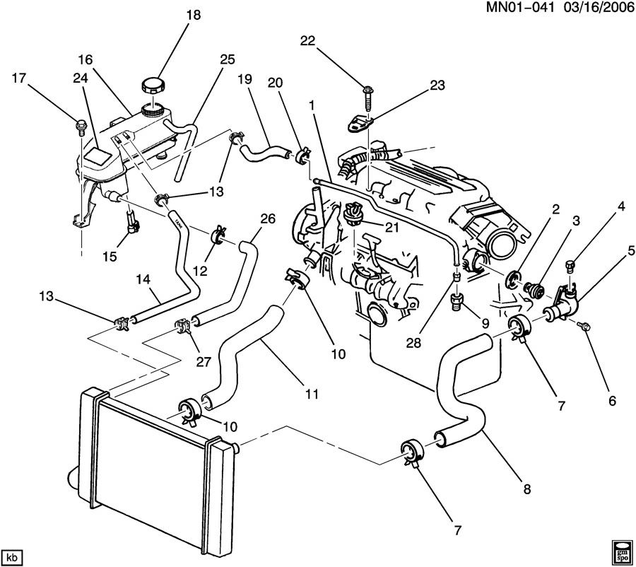 Wiring Diagram 2003 Chevy Malibu