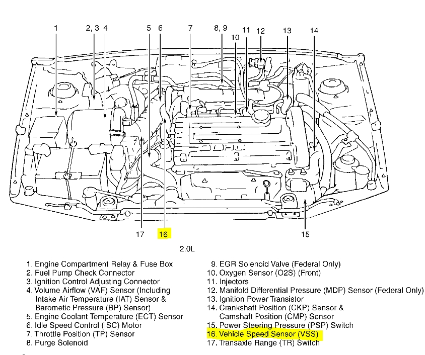 Hyundai Accent Engine Diagram. Hyundai. Auto Parts Catalog