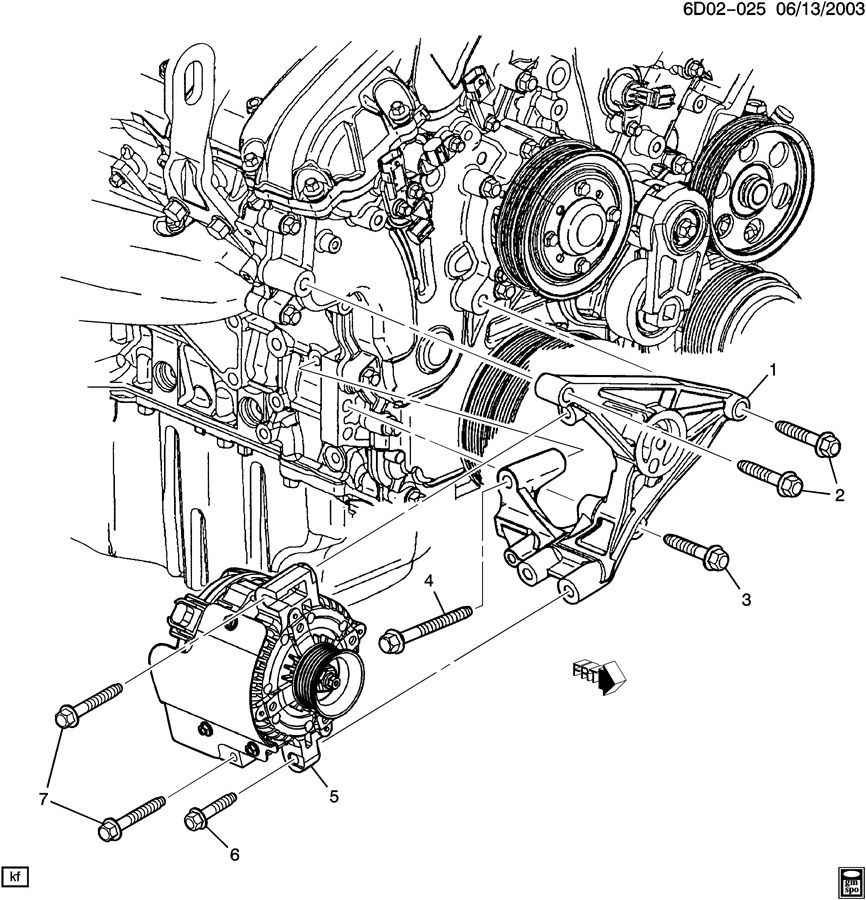 Cadillac Sts 2005 V6 Alternator Short In Wiring Images