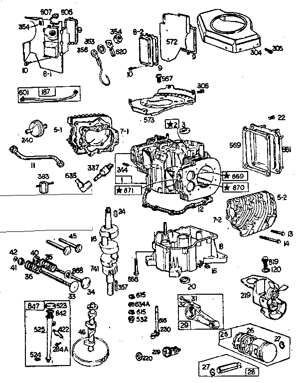 engine diagram further briggs and stratton engine parts diagram