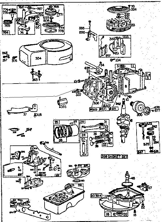 Briggs And Stratton 12a105-0159-f8 Engine Manual