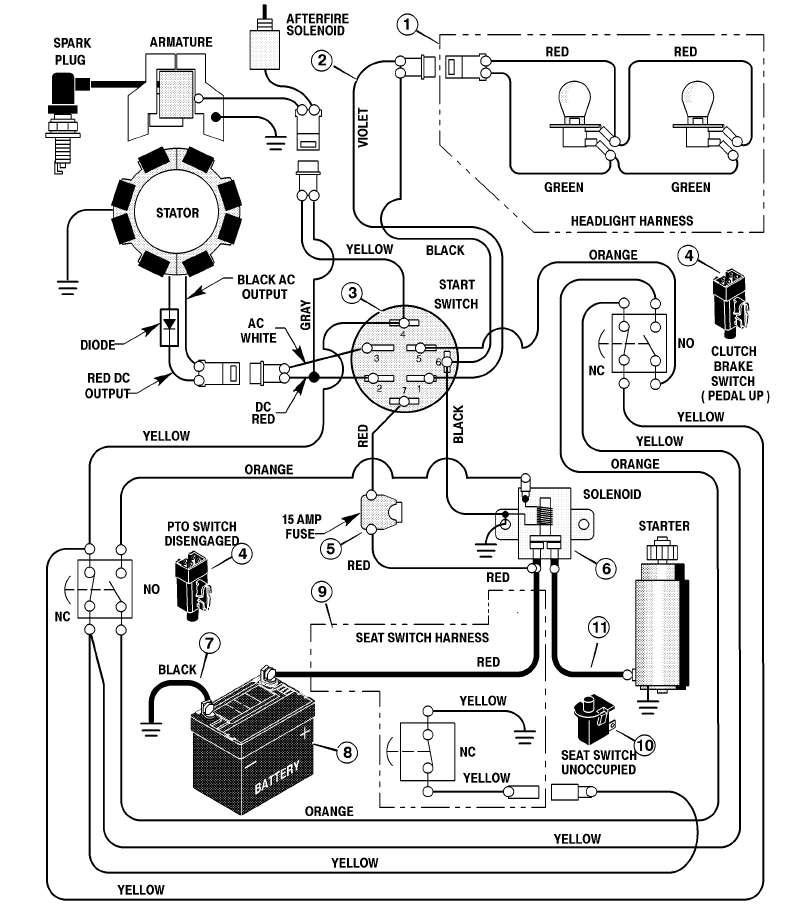 wiring diagram for model 1015