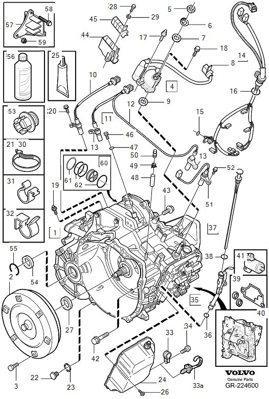 [DIAGRAM] Volvo V40 2000 Wiring Diagram FULL Version HD