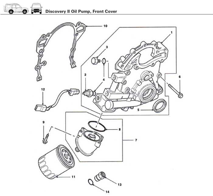 2003 land rover engine diagram