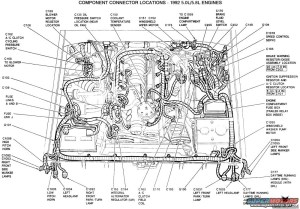 1986 Ford F150 Engine Diagram | Automotive Parts Diagram