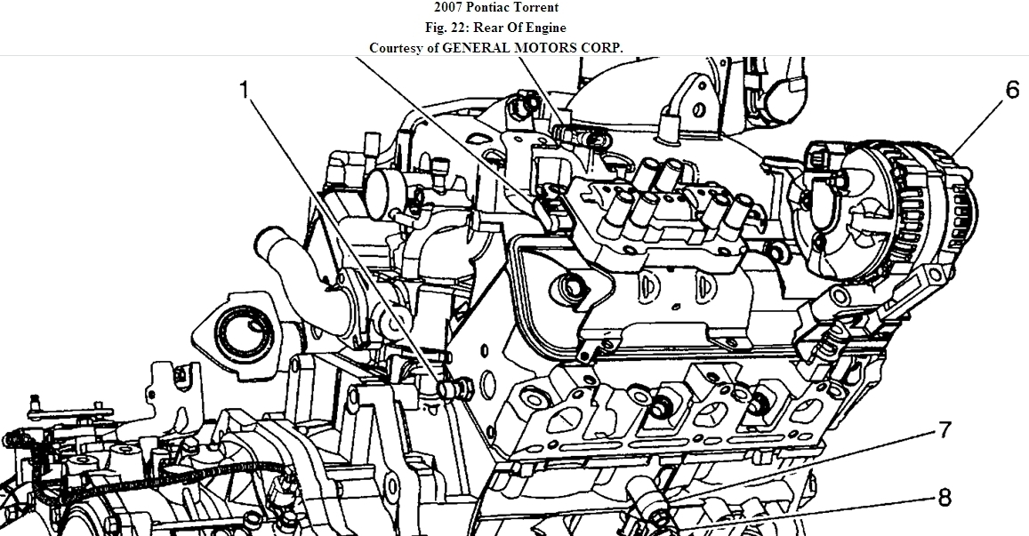 Crankshaft Position Sensor Location. Diagrams. Wiring