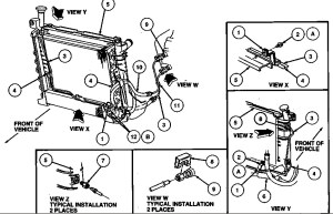 1996 Ford Taurus Engine Diagram | Automotive Parts Diagram