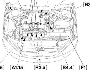 Ford Focus 2002 Engine Diagram | Automotive Parts Diagram