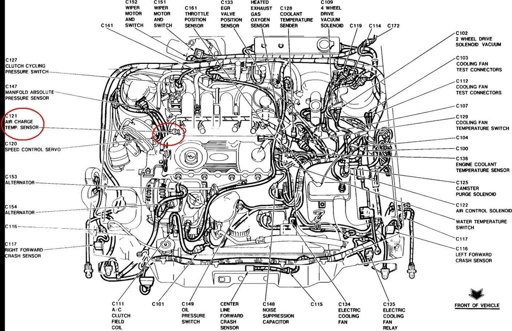 Ford Engine Wiring Loma Ford Engine Diagram Wiring