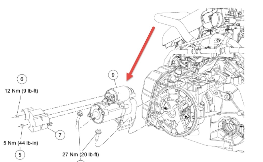 2012 ford escape engine diagram