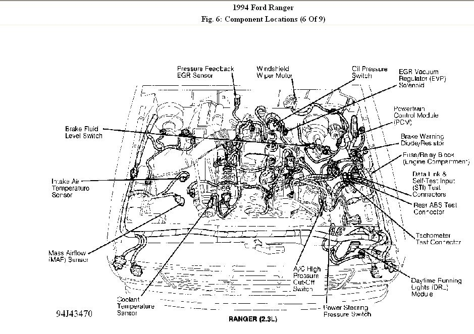 Diagrams For 1994 Ford Ranger 4 Cylinder. Ford. Auto Parts