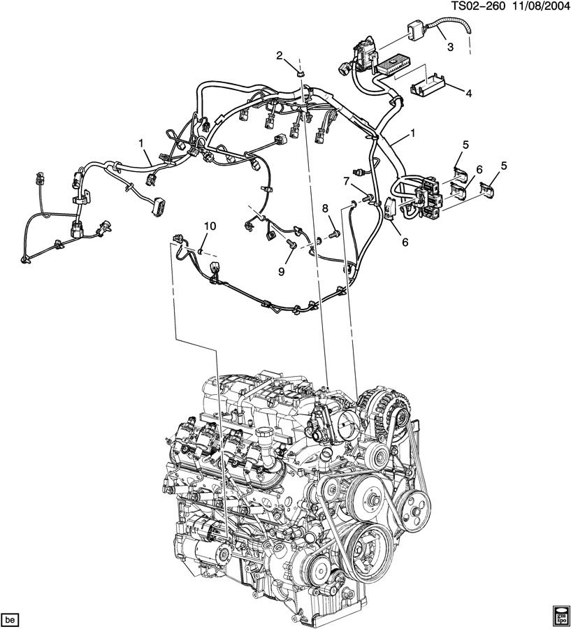 2003 trailblazer 4 2 engine diagram