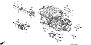 1999 Honda Accord V6 Engine Diagram | Automotive Parts