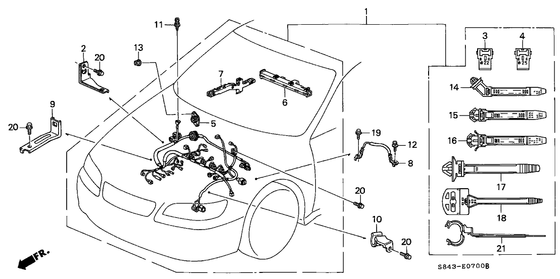 Honda Accord Engine Wiring Diagram : 34 Wiring Diagram