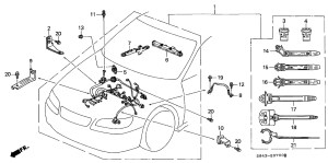 1999 Honda Accord Engine Diagram | Automotive Parts