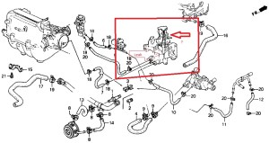 1999 Honda Accord V6 Engine Diagram | Automotive Parts