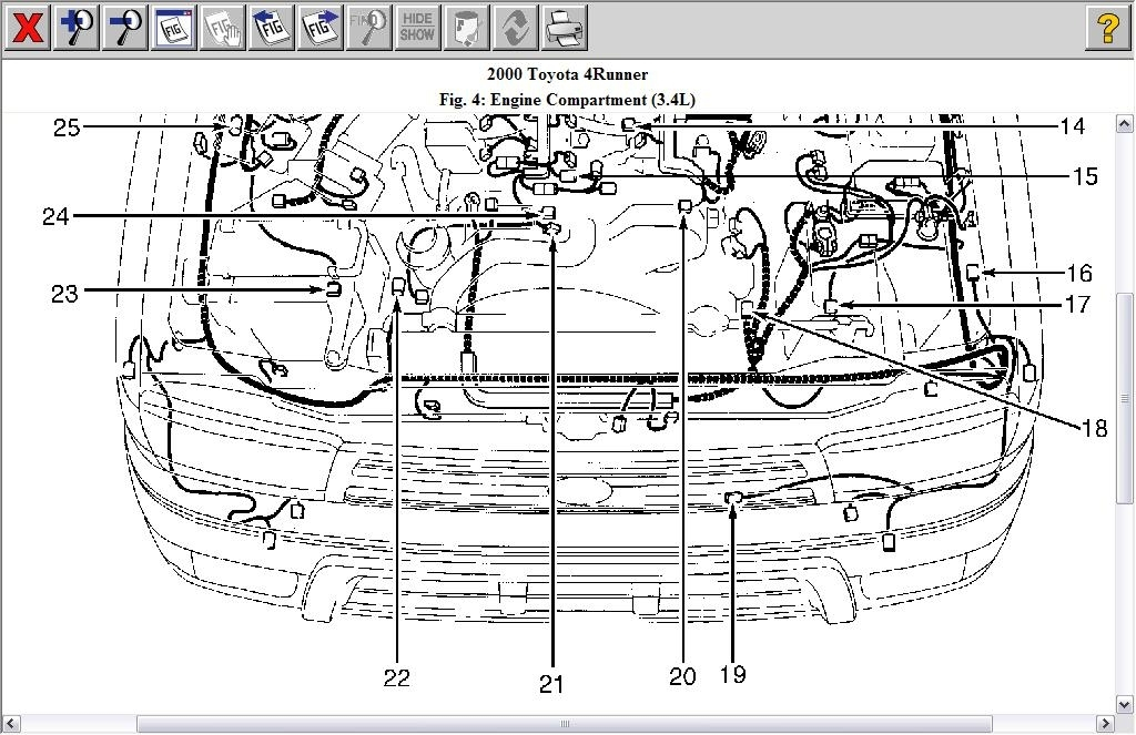 Toyota 4runner Oem Parts Diagram. Toyota. Auto Wiring Diagram