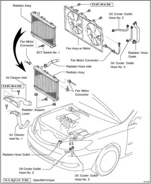 2000 Toyota Camry Engine Diagram | Automotive Parts