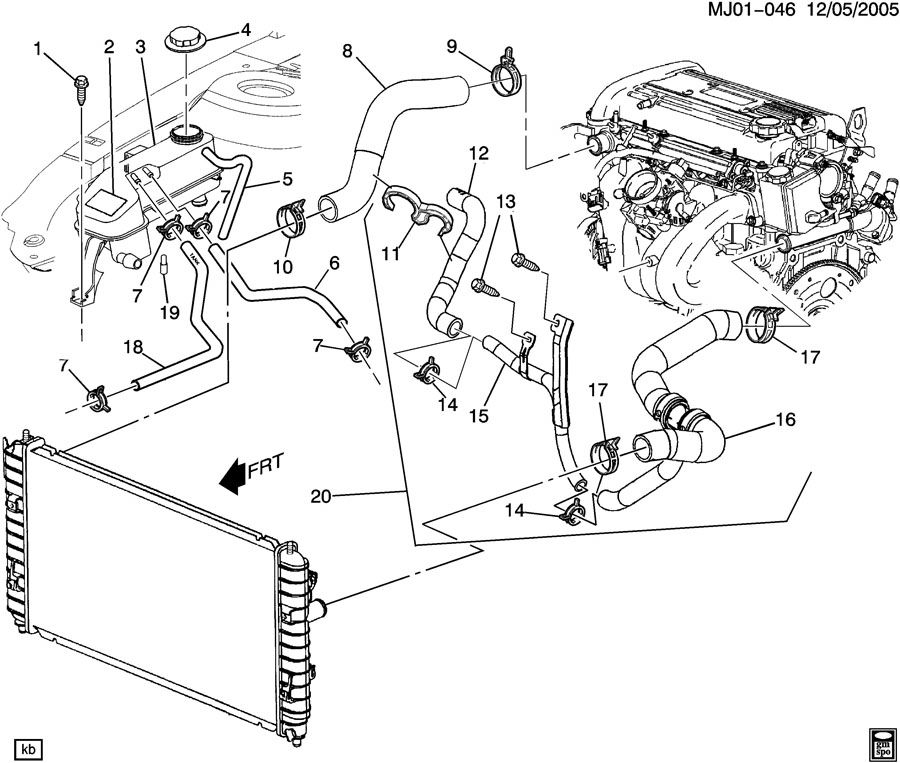 [DIAGRAM] 2001 Chevy Cavalier Engine Coolant Diagram FULL