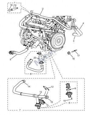 2003 Jaguar X Type Engine Diagram | Automotive Parts