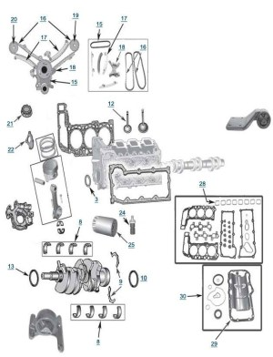 2003 Jeep Liberty Engine Diagram | Automotive Parts