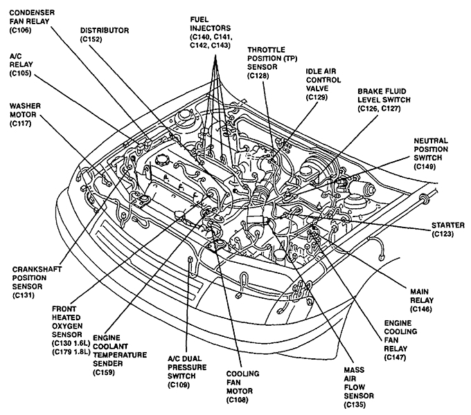 2001 Kia Sportage Engine Diagram Egr