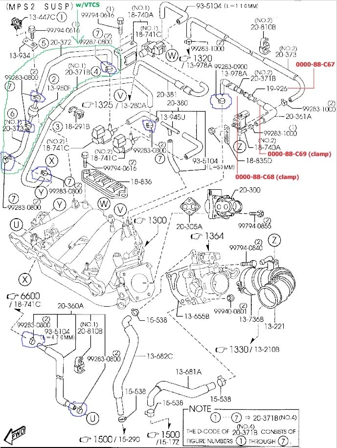 🏆 diagram in pictures database 2001 mazda tribute engine
