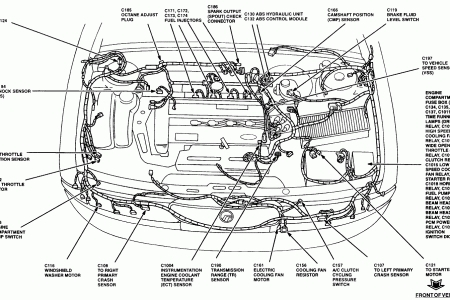 Motor Wiring Diagram In Addition 1998 Ford Contour Exhaust