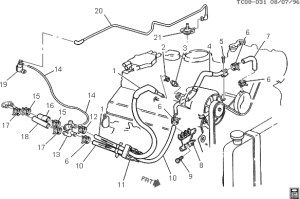 Need Heater Hose Diagram With Aux Heater | Chevy Truck
