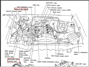 2000 Nissan Maxima Engine Diagram | Automotive Parts