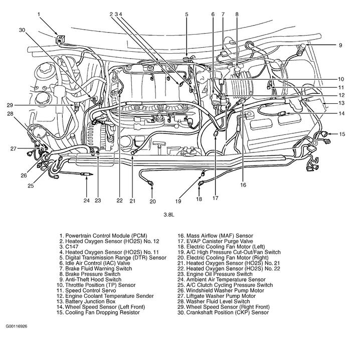 2001 ford windstar parts diagram