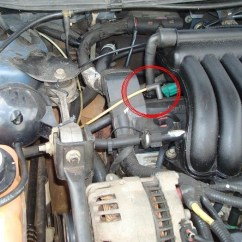 98 F150 Alternator Wiring Diagram For 2001 Chevy Silverado 3500 Vacuum Hose Connection, Where To? - Taurus Car Club Of America In 2003 Ford Engine ...