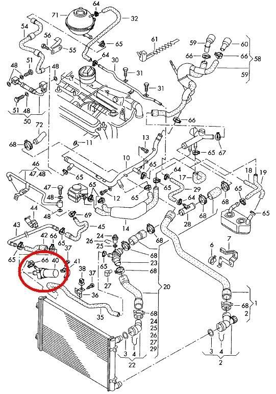 audi a4 1.8 t engine diagram