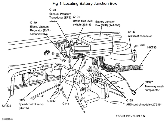 2001 Ford Focus Zx3 Fuse Box Diagram : 36 Wiring Diagram