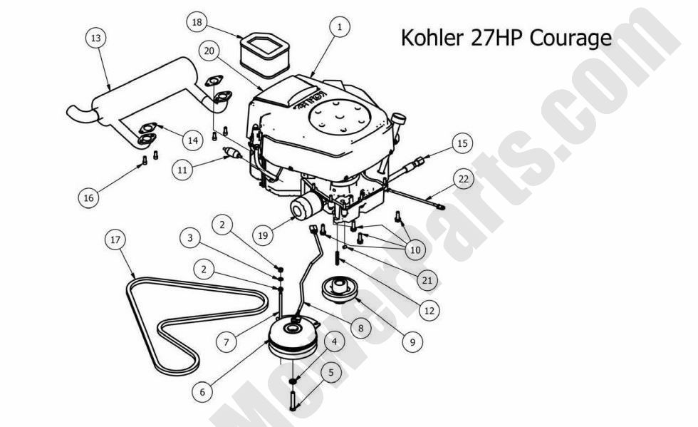 V Twin 21 Hp Briggs Engine Wiring Diagram V-Twin
