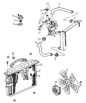 1996 Jeep Grand Cherokee Engine Diagram | Automotive Parts
