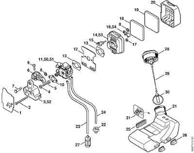 stihl fs 56 parts diagram 5 wire boat trailer wiring 85 trimmer | automotive images
