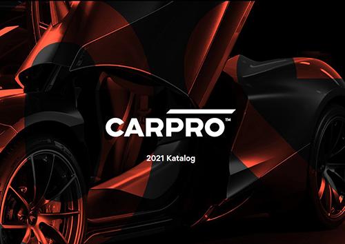 Titelbild CarPro 2021 Katalog