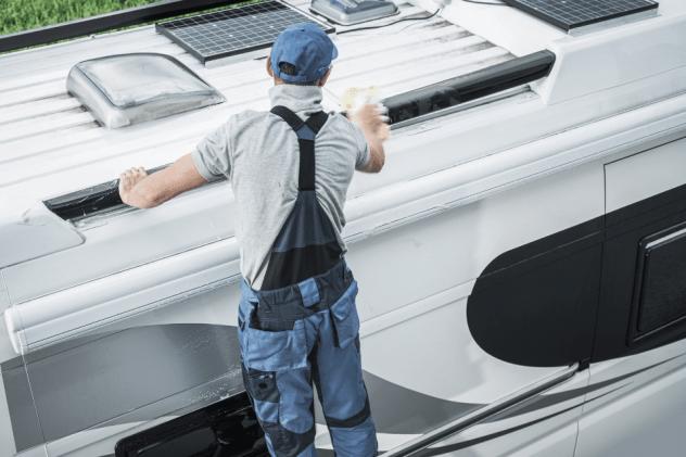 Wohnmobil polieren - So geht es richtig