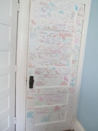Bedroom Door Decoration