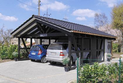 Spitzdach Carport Auf Carportbauennet