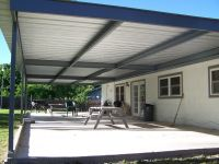Monster Custom Metal Awning Patio Cover Universal City ...