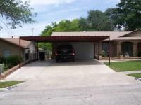 Two Car Attached Carport North San Antonio - Carport Patio ...