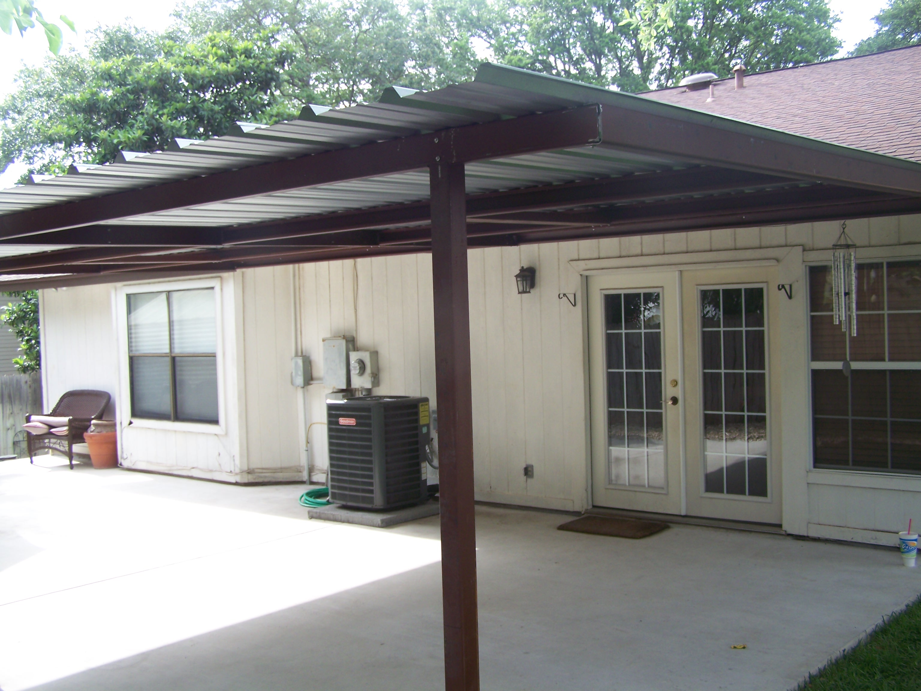 Back Porch Roof Ideas